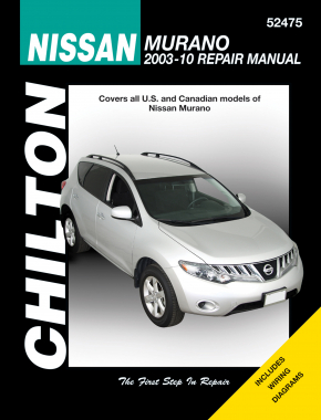 Nissan Murano for (2003-10) Chilton Repair Manual (USA)