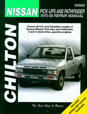 Nissan Pick-ups & Pathfinder for (1970-88) Chilton Repair Manual (USA)