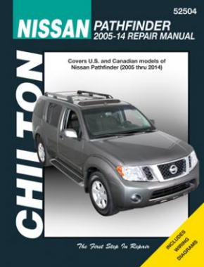 Nissan Chilton Repair Manual covering Nissan Pathfinder for 2005-14
