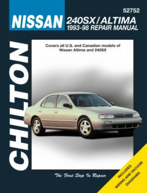 Nissan 240SX & Altima Chilton Repair Manual covering all models for 1993-98