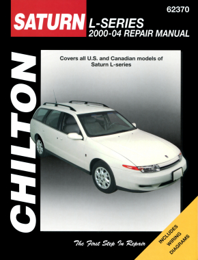 Saturn L-Series for (2000-04) Chilton Repair Manual (USA)