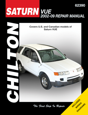 Saturn Vue (2002-07) (Does not include information specific to hybrid models) Chilton Repair Manual (USA)