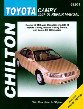 Toyota Camry, Camry Solara, Avalon & Lexus ES 300 (1997-01) Chilton Repair Manual (USA)