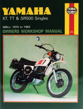 Yamaha XT, TT and SR500 Singles 499cc (75-81) Haynes Repair Manual