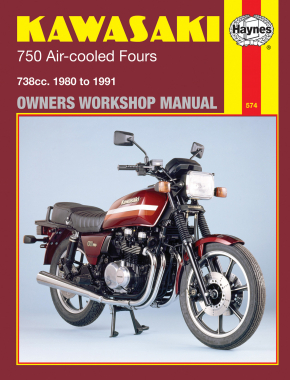 Kawasaki 750 Air-cooled 738cc Fours (80-85) Haynes Repair Manual