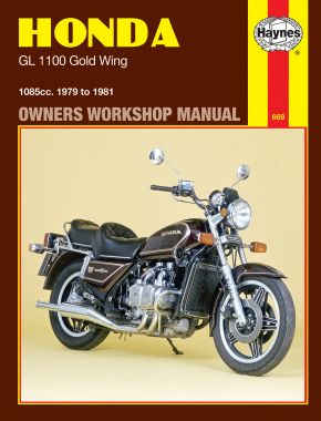 Honda GL1100 Gold Wing 1085cc (79-81) Haynes Repair Manual