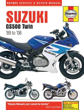 Suzuki GS500 Twin 487cc (89-08) Haynes Repair Manual
