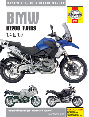 BMW R1200 Twins (04-09) Haynes Repair Manual