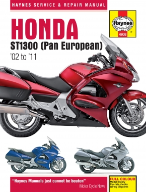 Honda ST1300 & ST1300A (02-11) Haynes Repair Manual