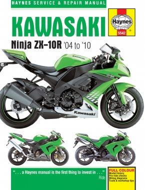 Kawasaki ZX-10R (04-10) Haynes Repair Manual