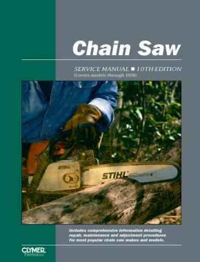 Proseries Chain Saw 10th Edition Service Repair Manual