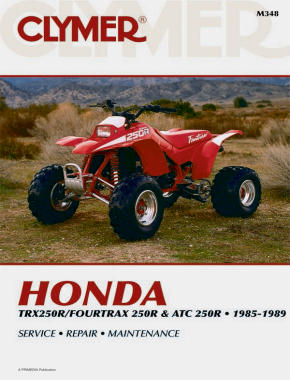 Honda TRX250R/Fourtrax 250R& ATC 250R (1985-1989) Service Repair Manual
