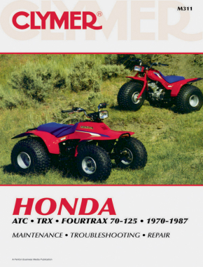 Honda ATC Series Fourtrax ATV (1970-1987) Service Repair Manual