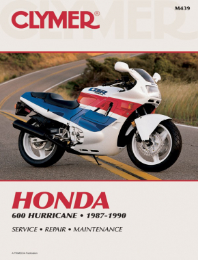 Honda CBR600F Hurricane Motorcycle (1987-1990) Service Repair Manual