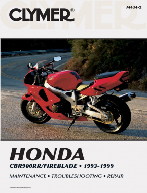 Honda CBR900RR/Fireblade Motorcycle (1993-1999) Service Repair Manual
