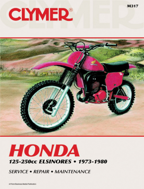 Honda Elsinore 125-200cc Motorcycle (1973-1980) Service Repair Manual