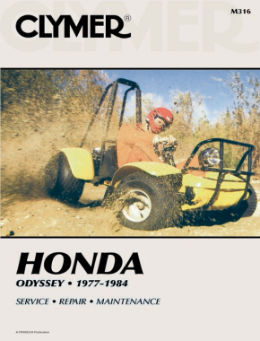 Honda Odyssey FL250 Series ATV (1977-1984) Service Repair Manual