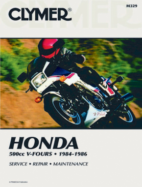 Honda 500cc V-Fours Magna & Inceptor Motorcycle (1984-1986) Service Repair Manual