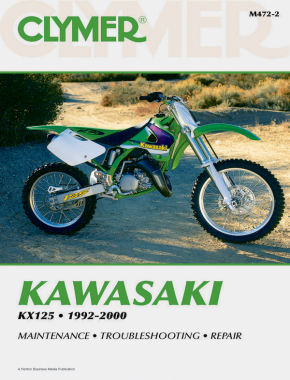 Kawasaki KX125 Motorcycle (1992-2000) Service Repair Manual