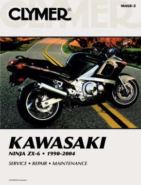 Kawasaki Ninja ZX-6 Motorcycle (1990-2004) Service Repair Manual