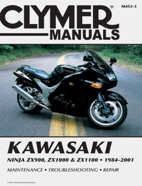 Kawasaki Ninja ZX900, ZX1000 & ZX1100 Motorcycle (1984-2001) Service Repair Manual