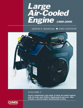 Proseries Large Air Cooled Engine Service Manual (1989-2000) Vol. 2