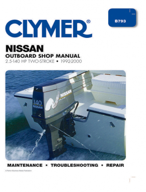 Nissan 2.5-140 HP 2-Stroke Outboards (1992-2000) Service Repair Manual