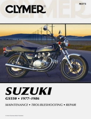 Suzuki GS550 Motorcycle (1977-1986) Service Repair Manual