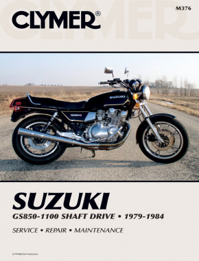 Suzuki GS850-1100 Shaft Drive Motorcycle (1979-1984) Service Repair Manual