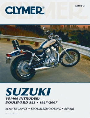 Suzuki VS1400 Intruder / Boulevard S83 Motorcycle (1987-2007) Service Repair Manual