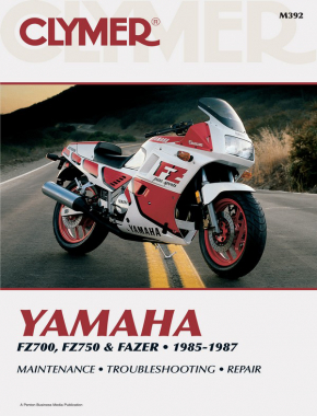 Yamaha FZ700, FZ750 & Fazer Motorcycle (1985-1987) Service Repair Manual
