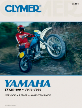 Yamaha IT125-490 Motorcycle (1976-1986) Service Repair Manual