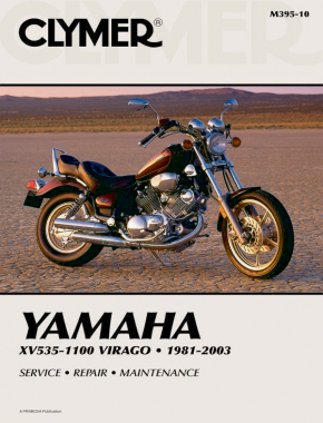 Yamaha XV535-1100 Virago Motorcycle (1981-2003) Service Repair Manual