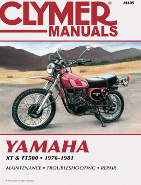 Yamaha XT500 & TT500 Motorcycle (1976-1981) Service Repair Manual