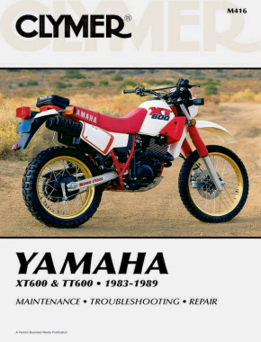 Yamaha XT600 & TT600 Motorcycle (1983-1989) Service Repair Manual