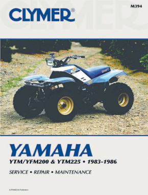 Yamaha YTM200/YTM225 (1983-1985) & YFM200 (1985-1986) ATV Service Repair Manual