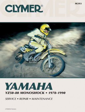 Yamaha YZ50-80 Monoshock Motorcycle (1978-1990) Service Repair Manual