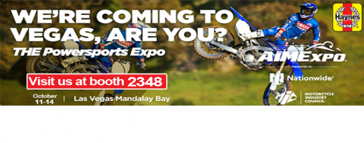 Haynes at 2018 AIMExpo