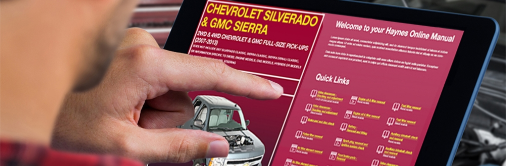Chevy Silverado Digital Manual