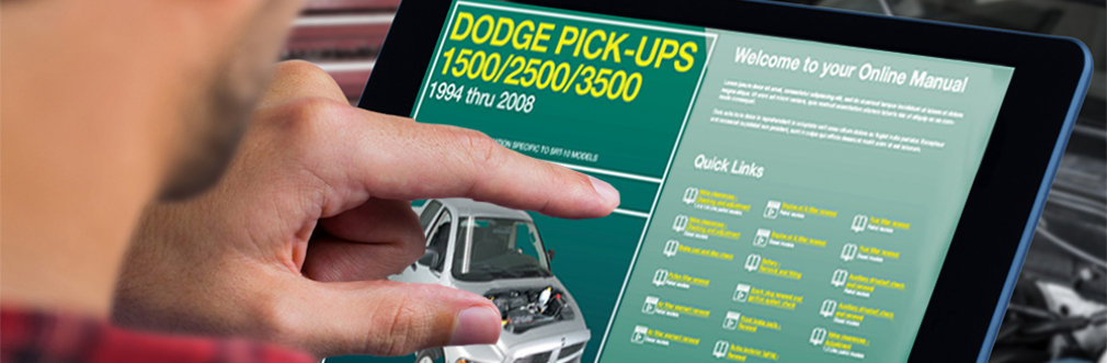 Dodge Ram Truck Digital Manual