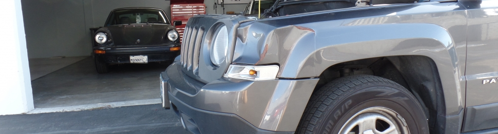 Dented Jeep