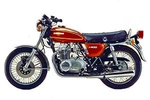 1977 Kawasaki KZ400