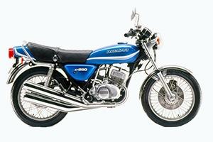 1977 Kawasaki KH250