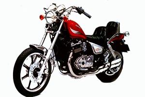 1985 Kawasaki 454LTD
