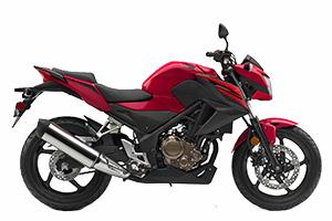 2018 Honda CB300f red
