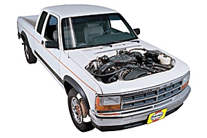 1991 Dodge Dakota Pickup Truck Repair Manual 91