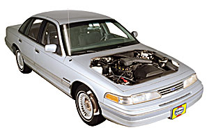 1988 Ford Crown Victoria Grand Marquis Wiring Diagram Electrical Manual