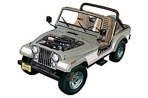 Jeep CJ6 (1959 - 1975) Repair Manuals Jeep Cj Wiring Diagram Book on