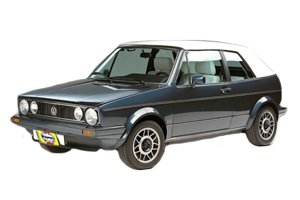 VW Rabbit Convertible Gas