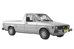 VW Rabbit Pick-up Gas